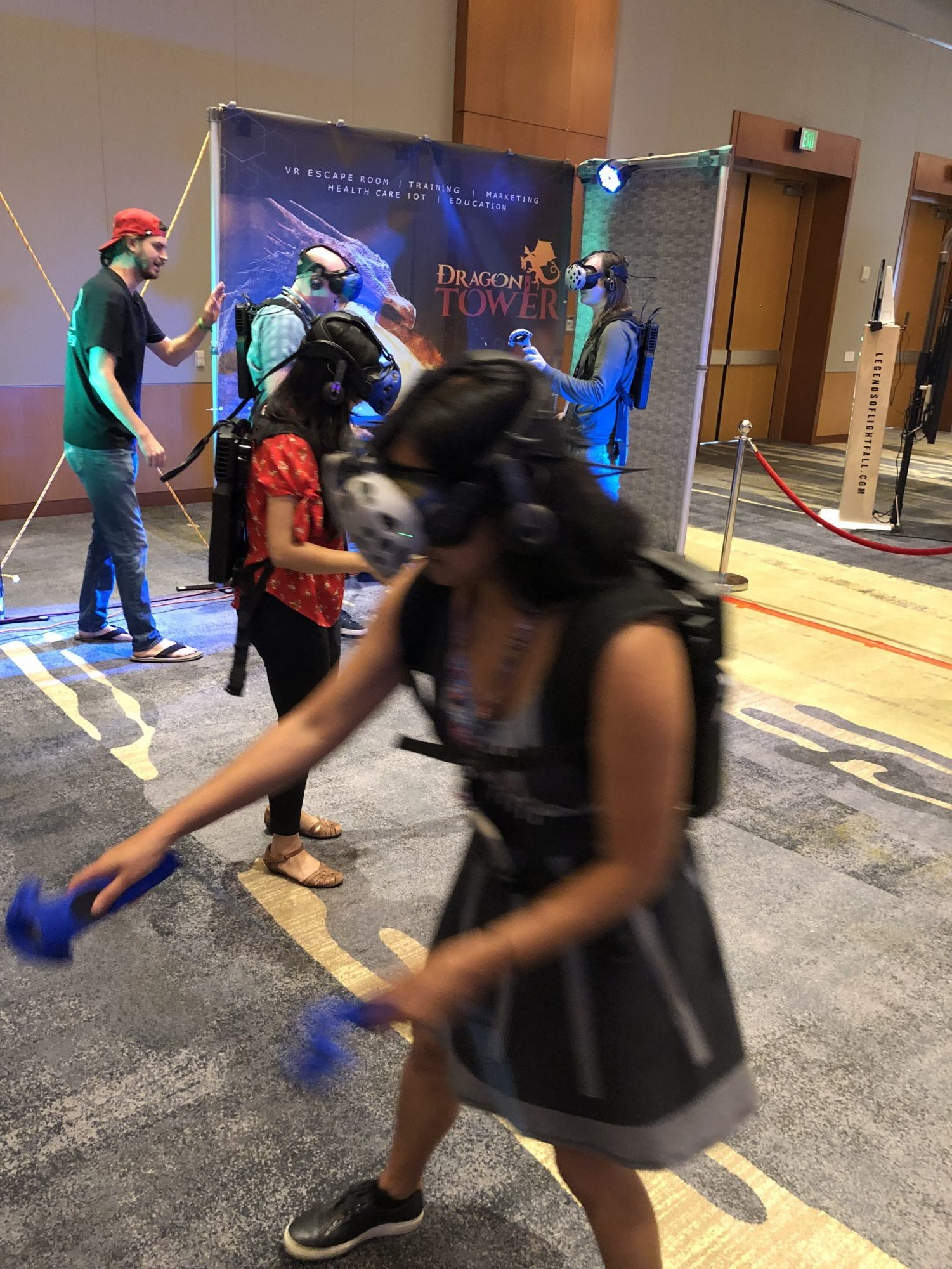 Deploy Virtual Reality Escape Room Arena for your next company event.