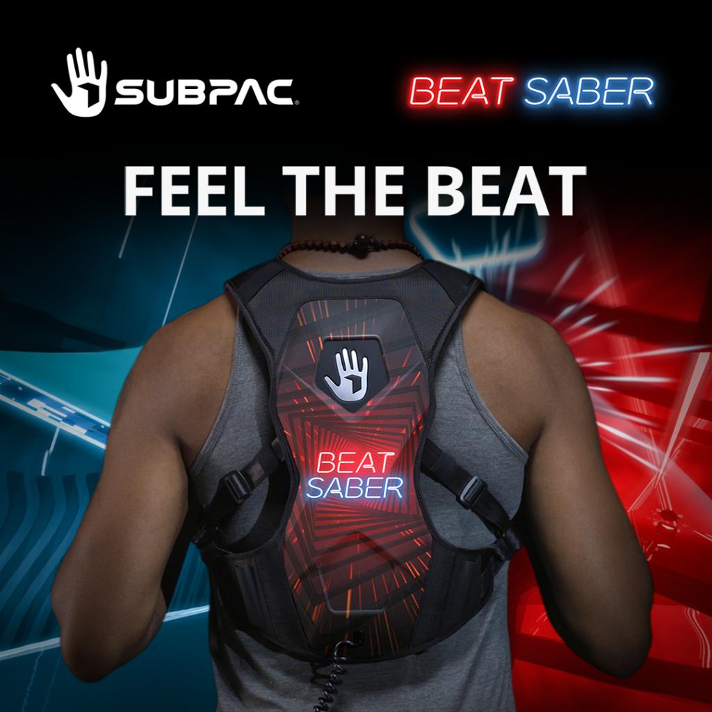 Feel The Rhythm With The Beat Saber SUBPAC