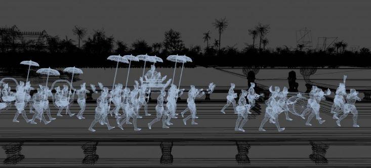 Khmer Empire's Capital Angkor Revives In VR